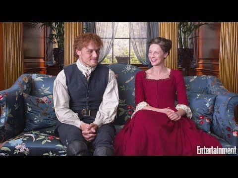 Does Outlander's Caitriona Balfe Sam Heughan on keeping 'domestic