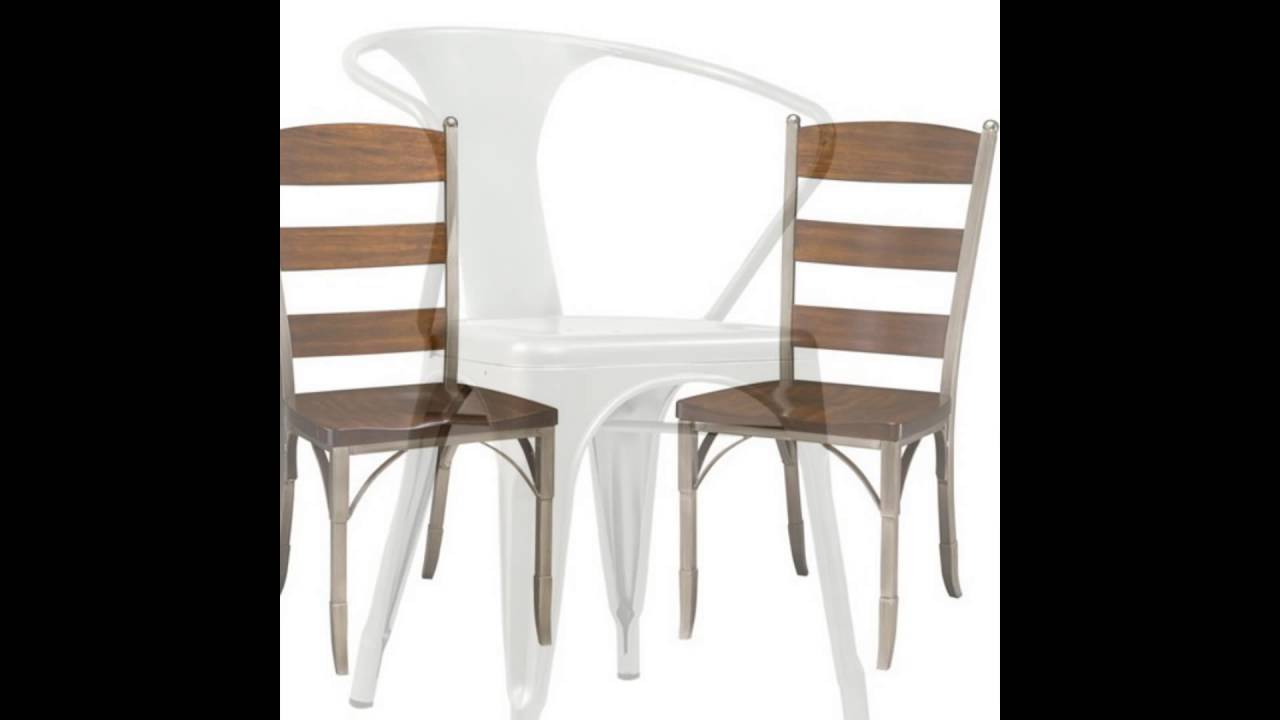 metal restaurant chairs youtube