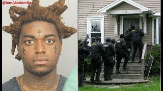 Kodak Black House Gets Raided by Police and He gets arrested for Gun Posession, Weed + More.
