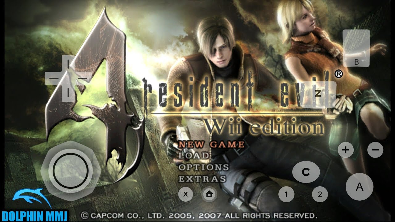 Resident Evil 4 Wii Edition Di HP Android - Dolphin Emulator MMJ