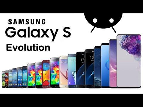 Evolution of Samsung Galaxy S