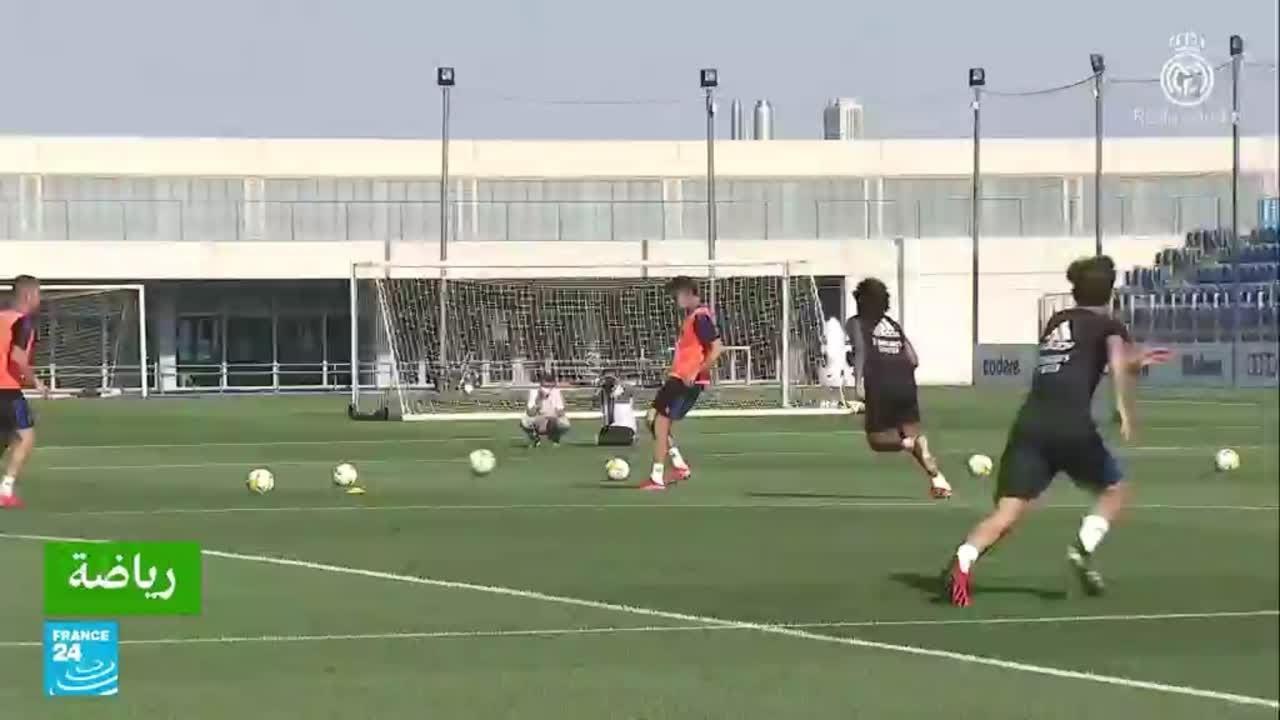 ريال مدريد يعود إلى التدريبات مع مدافعه الجديد النمساوي ديفيد ألابا  - 15:55-2021 / 7 / 23