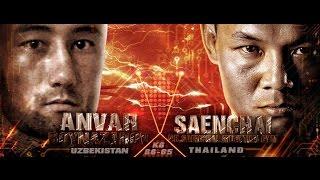 thai fight kmitl 2016 august 20 saenchai p k saenchai muay thai gym vs anvar boynazarov