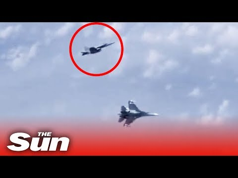 NATO jet stalks Putin minister before being chased off by SU-27