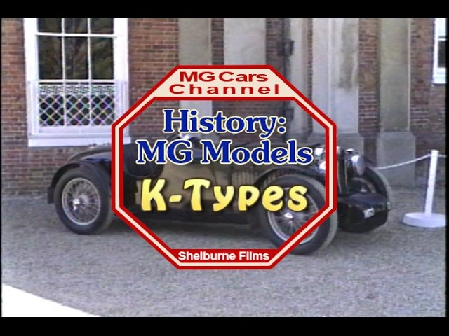 K-Type Magnettes - on the MG Cars Channel -