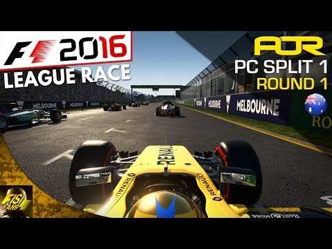 F1 2016 | AOR PC League Race (Split 1): Round 1 - Australia