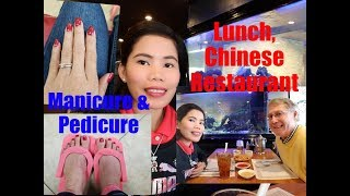 American Filipina Life In America    Happy Wife Manicure and Pedicure