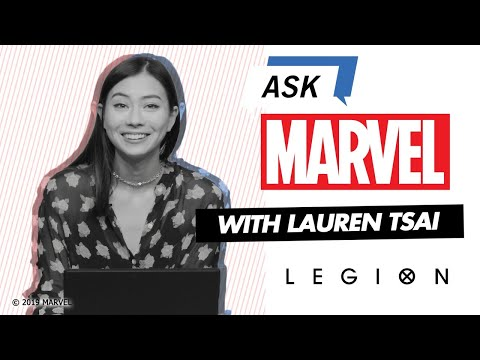 Legion's Lauren Tsai answers YOUR questions! | Ask Marvel