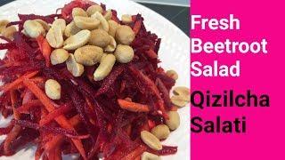 Fresh Beetroot Salad 🥗 Qizilcha Salati ✅ Салат из …