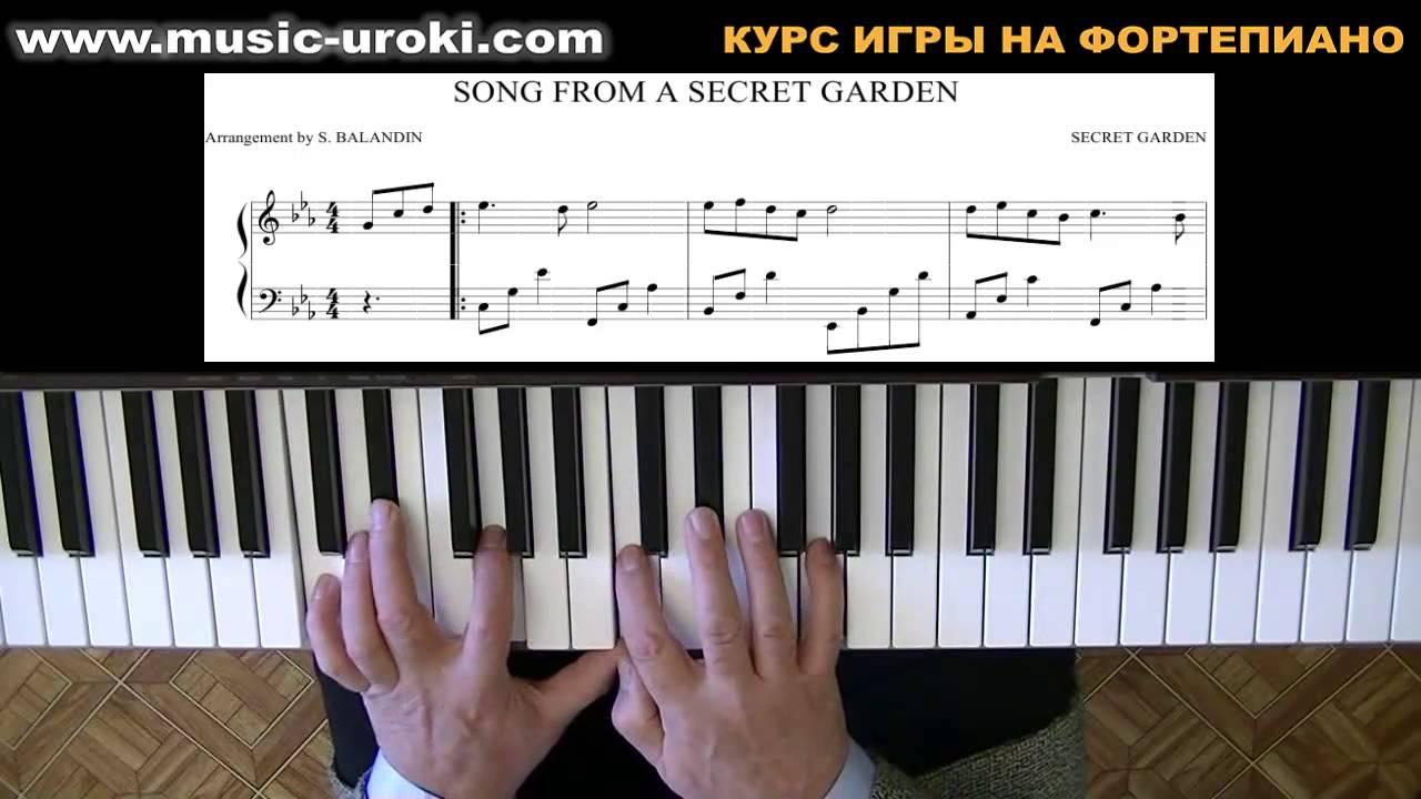 шопен сад эдема нежность ноты для фортепиано