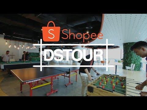 Konsep Kolaborasi di Kantor Baru Shopee Indonesia