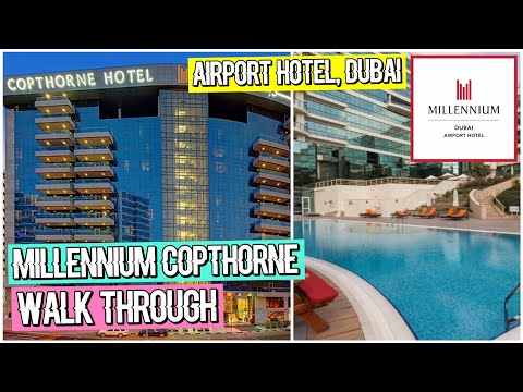 WALK THROUGH - Copthorne Millennium Airport Hotel, Dubai | Inspiring Vanessa