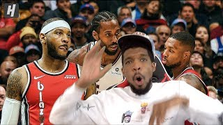 SOMEBODY HELP MELO OUT!? LA Clippers vs Portland Trail Blazers Full Game Highlights