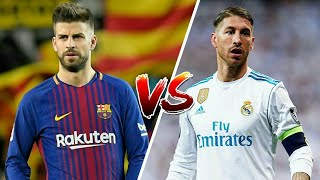 Sergio Ramos VS Gerard Pique Ultimate Defending skills 2018 HD|Who is better?