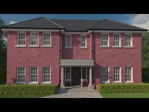 Calleva House - CGI Fly through
