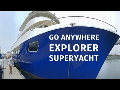 $ 8.900.000 ALLSEAS 92 EXPEDITIE Explorer SuperYacht Tour Liveaboard Reis ROND DE WERELD Jacht