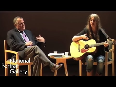"""Patti Smith discusses """"Just Kids"""" at National Portrait Gallery"""