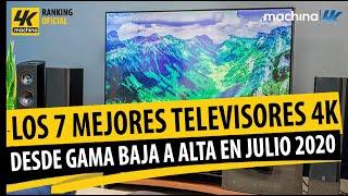 Estos son los 7 Mejores Televisores 4K a comprar Hoy según tu Presupuesto✨Ranking Julio 2020