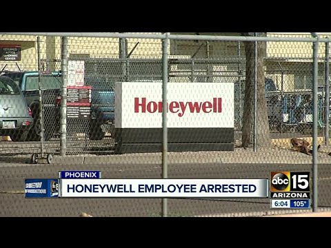 Honeywell employee arrested for planning to sell information on black market