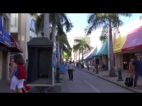 Philipsburg, Sint Maarten - Downtown HD (2013)
