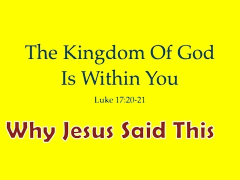 Answering Hinduism: The Kingdom of God is Within You??