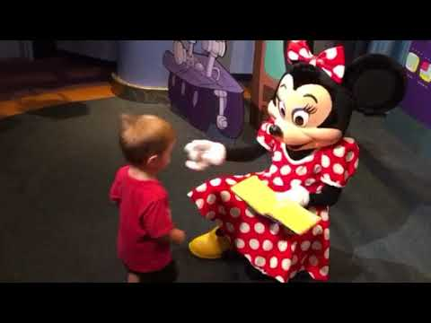 Mackie meets Minnie Mouse