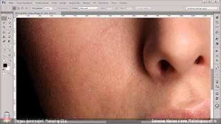 Ретушь фотографий - Урок 1 - Инструмент заплатка
