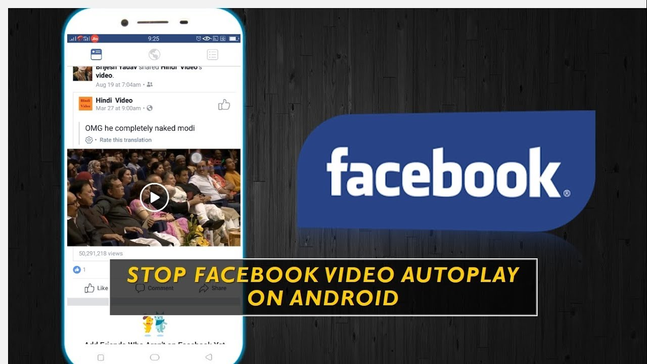 How to Stop Facebook Video Autoplay Android