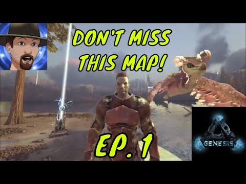 GENESIS! NEW ARK MAP! IT HAS EVERYTHING! Where to spawn and