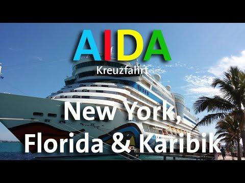 AIDA Kreuzfahrt - New York, Bermudas, Florida & Karibik