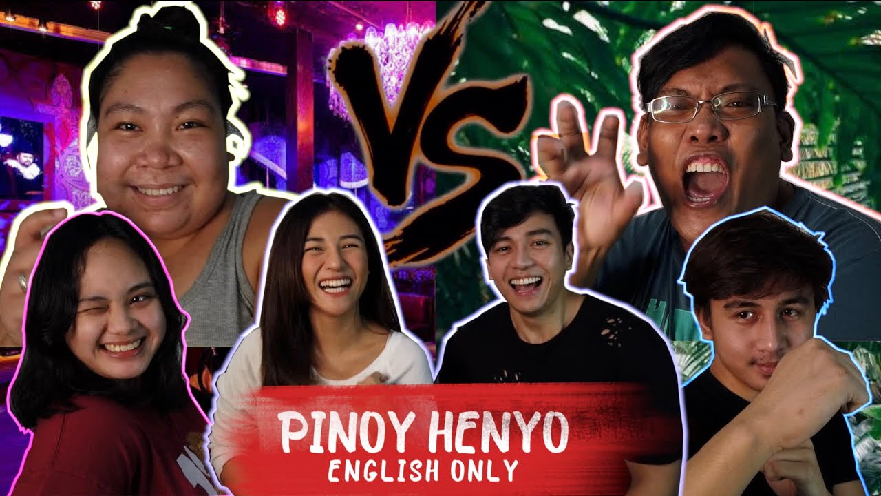 PINOY HENYO ENGLISH ONLY