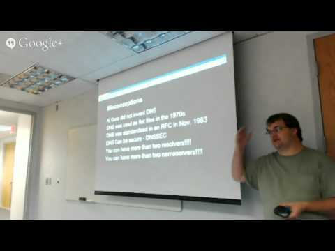 2014-09 Saint Louis Unix Users Group - DNS and HAProxy