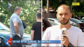 Stirile Kanal D - Bataie intre clanurile mafiote in capitala. Emi Pian a fost ucis | Editie de pranz