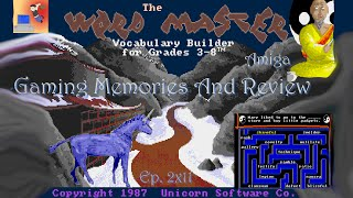 Word Master - Amiga Voice - Gaming Memories And Review
