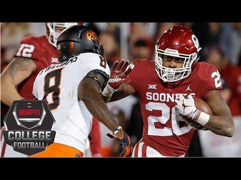 Oklahoma edges Oklahoma State in Bedlam | College Football Highlights