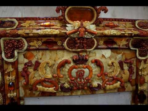 Amber Room Workshop at Catherine\'s Summer Palace - YouTube