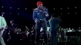 Marvin Gaye LIVE - Medley 1974