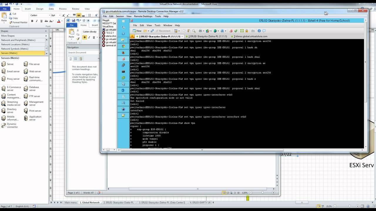 Ubiquiti EdgeRouter Lite IPsec site-to-site + OSPF