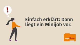 Wann liegt ein 450-Euro-Minijob vor?