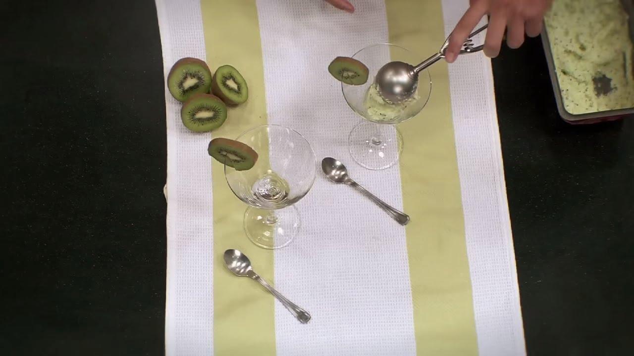 C mo hacer un helado casero de kiwi aprende a cocinar for Como aprender a cocinar