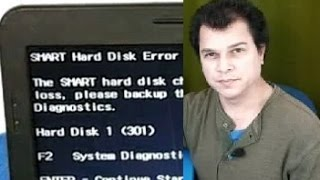 Smart Hard Disk Error / how to fix it / Error 301 hp ...maybe it was not bad!!!