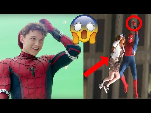 Spider-Man: Homecoming Behind the Scenes(BTS) Ft. Tom Holland & Robert Downey Jr. - 2017