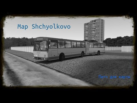 Карта Щёлково.