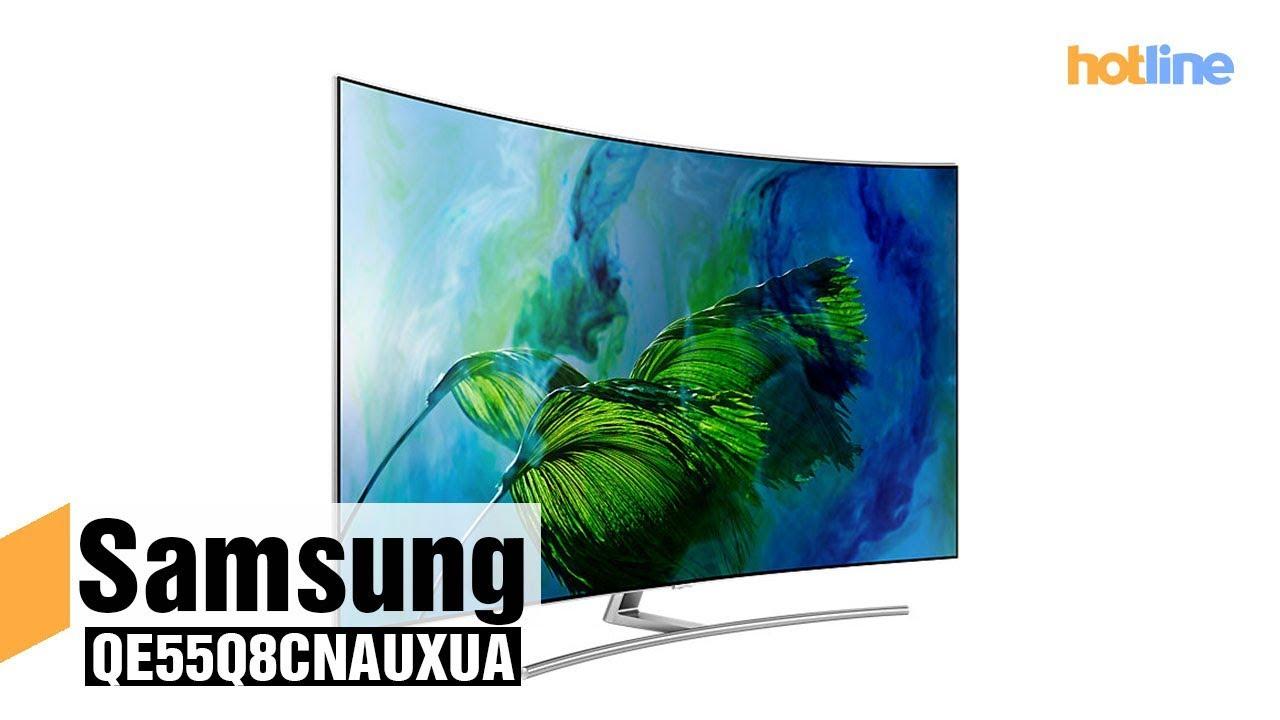 Samsung QE55Q8CNAUXUA — обзор 55-дюймового QLED телевизора