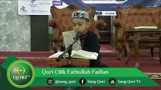 Download Mp3 Qori Cilik Fathullah Fadlan, Surat Maryam Ayat 1-11