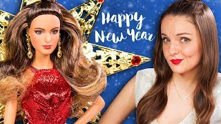 ПРОБЛЕМЫ ПОД ЮБКОЙ! Holiday Barbie 2017 | Новогодняя Барби | Обзор куклы | Распаковка | На Новый год