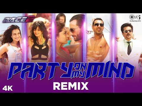 Party On My Mind Remix - Race 2 | Saif, Deepika, John, Jacqueline, Anil & Ameesha