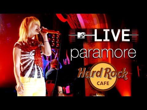 Paramore - MTV LIVE, Hard Rock Café 2007 (Full Show)