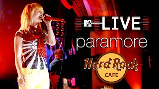Paramore - MTV LIVE, Hard Rock Café 2007 (Full Show)