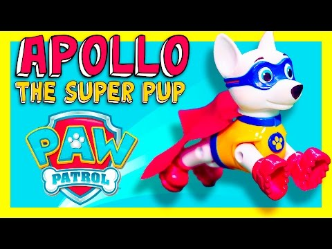 Unboxing the Apollo the Super Pup Toy with Chase and Ryder Toys
